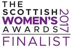 Finalist EBadge - The Scottish Womens Awards 2017